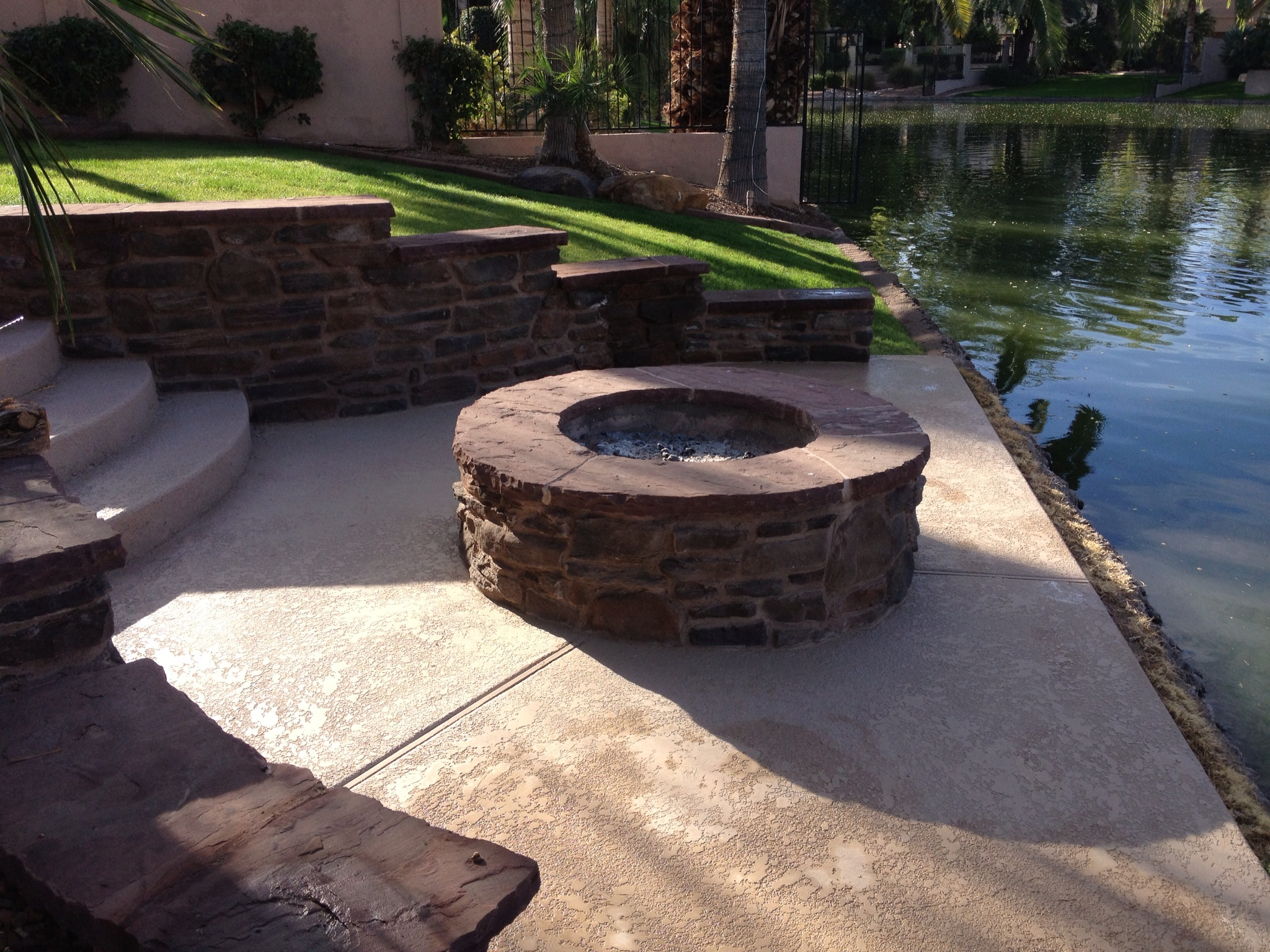 fireplaces and firepits precision landscape