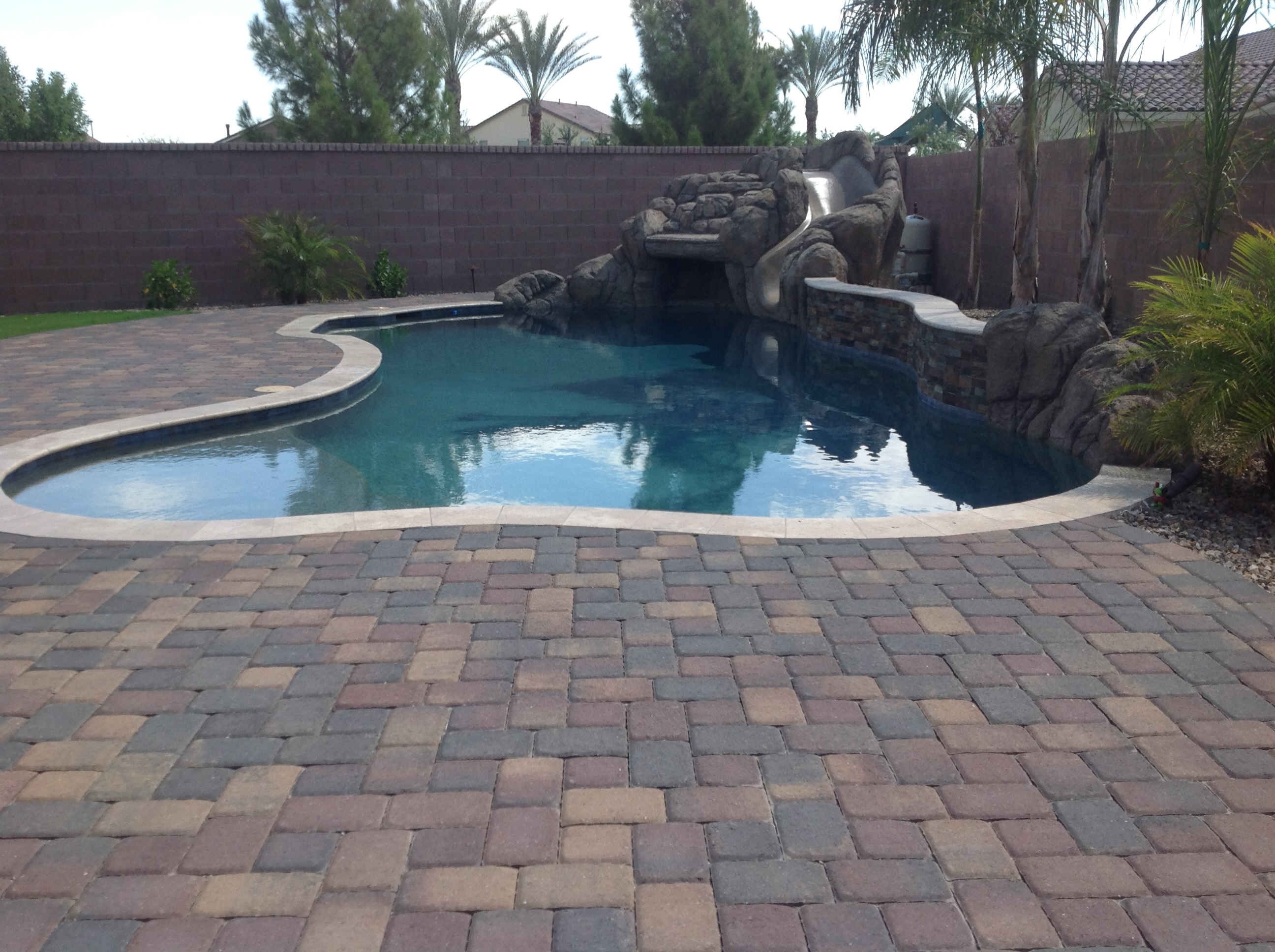 decking walkways and pavers precision landscape